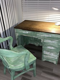 Gorgeous Antique Desk With A Chair! for Sale in Tigard,  OR