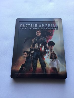 Captain America The First Avenger Steelbook for Sale in San Antonio, TX