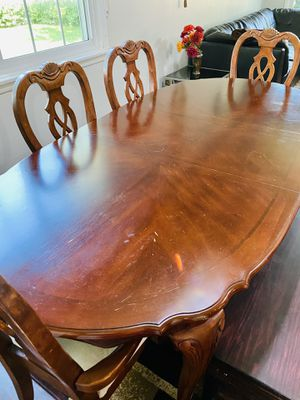 Dining Table and Four 4 Chairs for Sale in Oakbrook Terrace, IL
