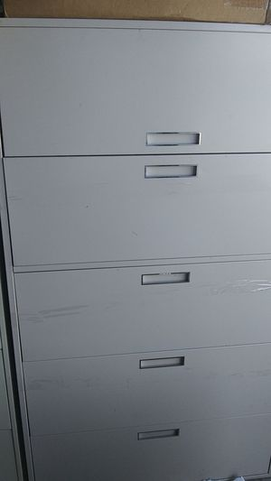 4 drawer w/ flip top compartment file cabinets - Free for Sale in Denver, CO