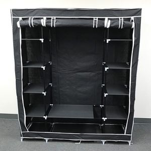 "(New In Box) $35 each Fabric Wardrobe Closet Storage Clothes Organizer 60x17x68"" (3 Colors) for Sale in La Habra Heights, CA"