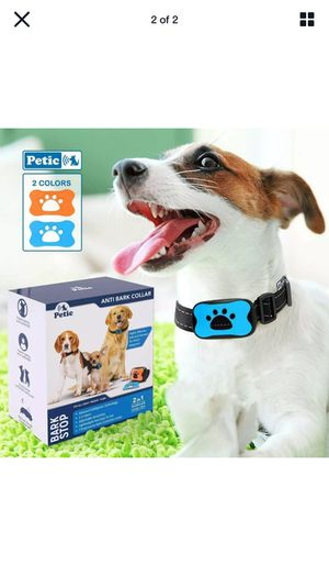 Petic Dog Anti Bark Collar for Small Large Dogs No Shock Barking Collars for Sale in Queens, NY