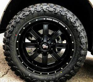 "Brand New 20"" RD1 20X10 6x135 / 6x139.7 Black Wheels for Sale in Miami, FL"