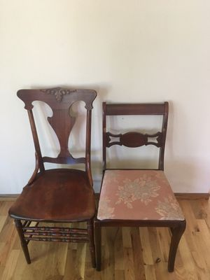 Antique chairs from the 1940s for Sale in Capitola, CA