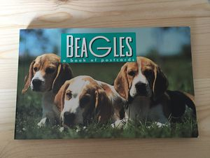 DOG LOVERS BEAGLES A BOOK OF 30 POSTCARDS © 1996 for Sale in Orange, CA