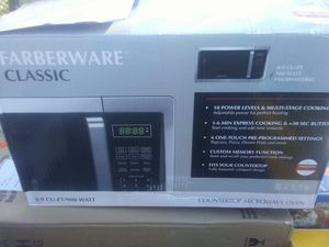 Farberware microwave for Sale in Fayetteville, NC