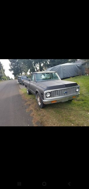 1972 Chevy C-20 Long Bed Project Truck for Sale in Seattle, WA