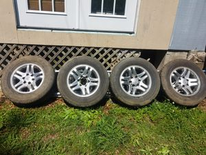 Toyota Sequoia rims Dunlop tires for Sale in New Albany, MS