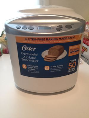 OSTER ExpressBake BREAD MAKER for Sale in East Brunswick, NJ