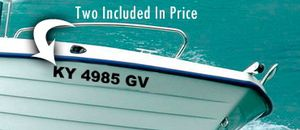 Boat fl numbers decals graphics jets ski decals and do numbers for Sale in Miami Gardens, FL