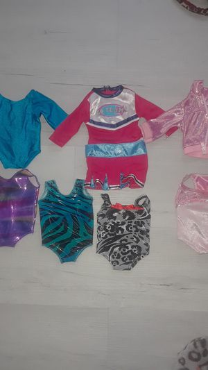 Lot of gymnastics apparel for American girl doll for Sale in MD CITY, MD