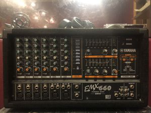 Make me an offer! Yamaha EMX 660, two mains w/stands , 1 monitor. for Sale in Grand Junction, CO
