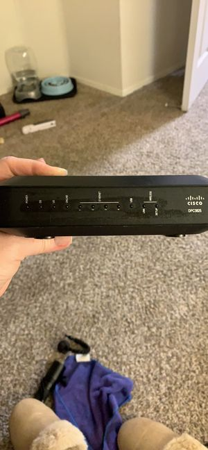 Cisco modem and router! for Sale in San Diego, CA