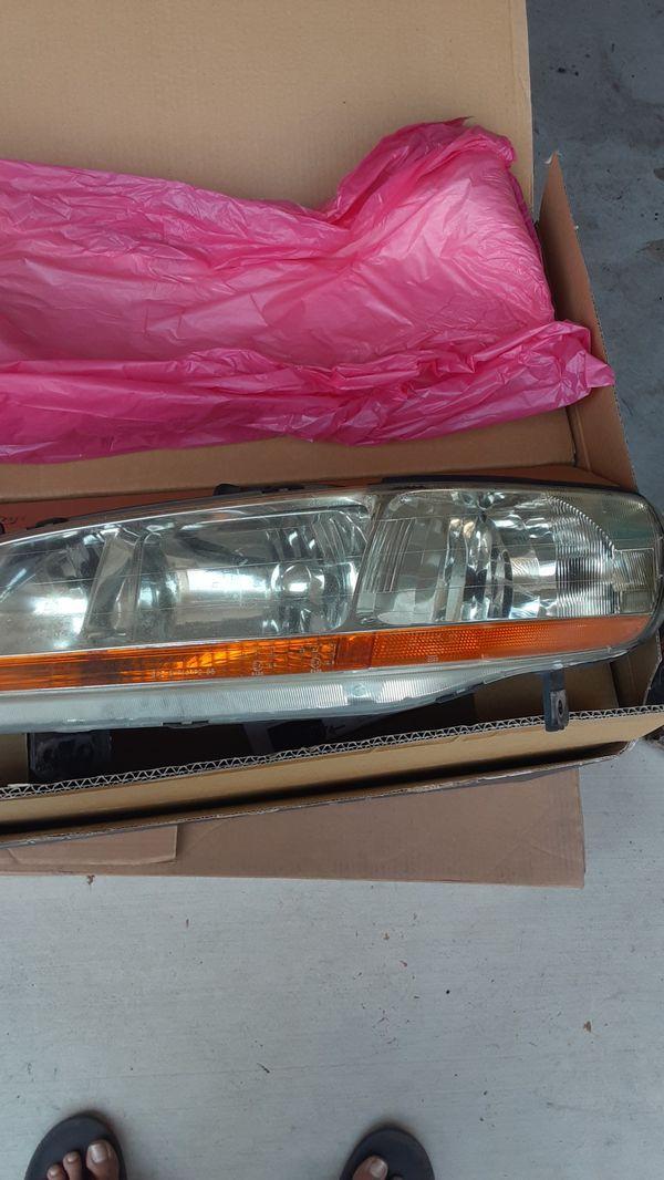 2002 Honda accord headlights and tail lights