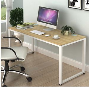 SHW Home Office 55-Inch Large Computer Desk (Walnut) - Used for 2 months for Sale in Diamond Bar, CA