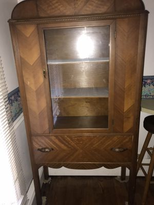 Antique china cabinet for Sale in Siler City, NC