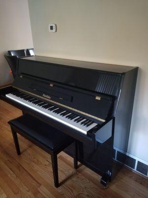 Nordiska black piano for Sale in Glen Ellyn, IL