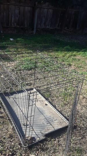Large dog crate for Sale in Modesto, CA
