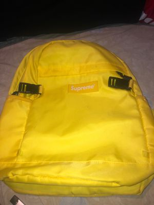 Yellow Supreme Bookbag for Sale in Columbus, OH