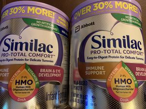 Similac 29.8 oz Pro-Total Comfort for Sale in Tucson, AZ