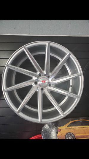 19x8.5 and 19x9.55x114 et 35 silver machine cvt style wheels fits Lexus toyota mustang v6 wheel tire rim shop for Sale in Tempe, AZ