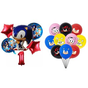Sonic The Hedgehog 16pcs Foil/Latex Balloons. for Sale in Alhambra, CA