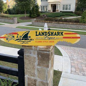 Surfboard sign for Sale in Alpharetta, GA
