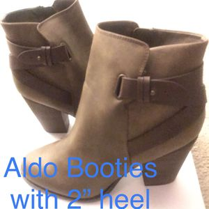 New ALDO Brown Leather Booties • Size 11 • Designer Boots for Sale in Washington, DC