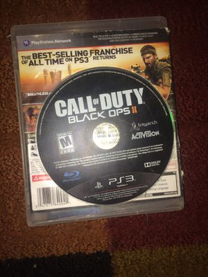 Ps3 cod black ops 2 - call of duty for Sale in Evansville, IN