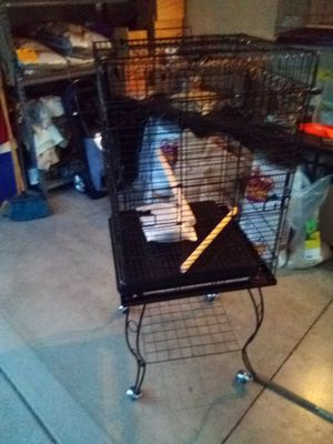 New Bird Cage with stan for Sale in Irwindale, CA