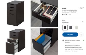 IKEA ALEX Drawer for Sale in Brooklyn, NY