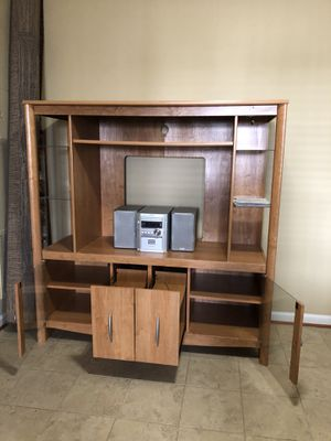 Media/entertainment center/tv stand/ for Sale in Sully Station, VA
