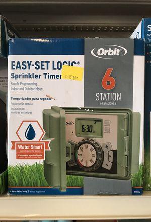 Easy set logic sprinkler timer for Sale in West Palm Beach, FL