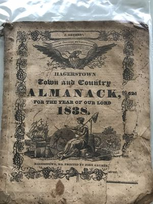 Old almanacs 1800s and 1900s make offer entire collection for Sale in Hagerstown, MD