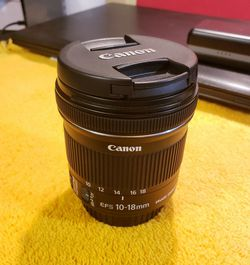 canon ef 10-18mm f/4.5-5.6 is stm for Sale in Peoria,  AZ