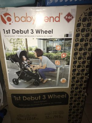 New Stroller with car seat! Baby Trend. for Sale in CRYSTAL CITY, CA