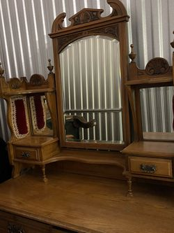 Here Is A Piece Of History This Antique Dresser Is From The 1800s for Sale in Sanford,  FL