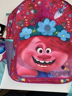 Kids Pink Trolls Backpack 🎒 for Sale in Delray Beach,  FL