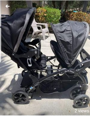 Baby Trend Sit N Stand Double Stroller for Sale in Cosmopolis, WA