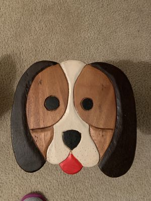 Small wooden dog stool for Sale in Manassas, VA