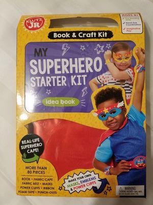SUPERHERO STARTER ACTIVITY KIT for Sale in Alameda, CA