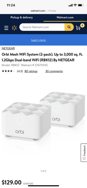 WiFi router and satellite orbi for Sale in Montclair, CA
