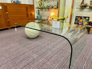 Vintage Pace Waterfall Glass with Stone Sphere Coffee Table for Sale in Fresno, CA