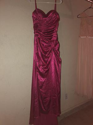 Bridesmaids dress hot pink for Sale in El Paso, TX