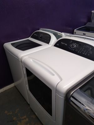 🌈Whirlpool cabrio platinum large capacity steam washer and steam gas dryer for Sale in Houston, TX