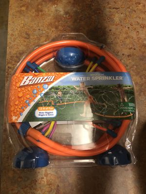 Banzai 12 ft Wigglin Water Sprinkler for kids for Sale in Thousand Oaks, CA