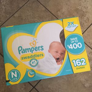 Pampers Newborn Swaddlers for Sale in Litchfield Park, AZ