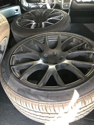 Black Rims for Sale in Fontana, CA