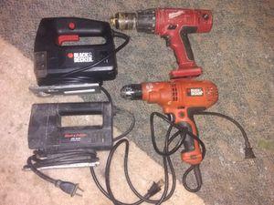2 Black&Decker jigsaws and Drill for Sale in Macon, GA