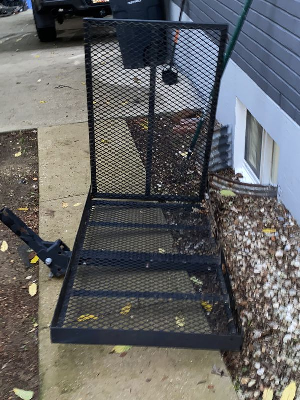 Wheel chair, shooter and more trailer hitch